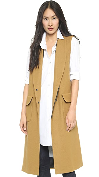 Rachel Comey Memento Sleeveless Coat