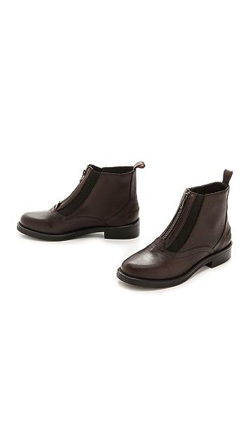 Rachel Comey Mackie Flat Zip Booties
