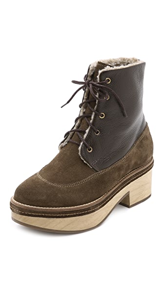 Rachel Comey Xander Lace Up Combat Boots