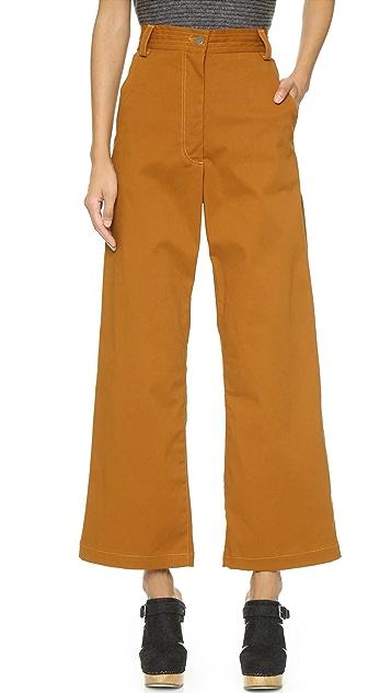 Rachel Comey Bishop Wide Leg Pants