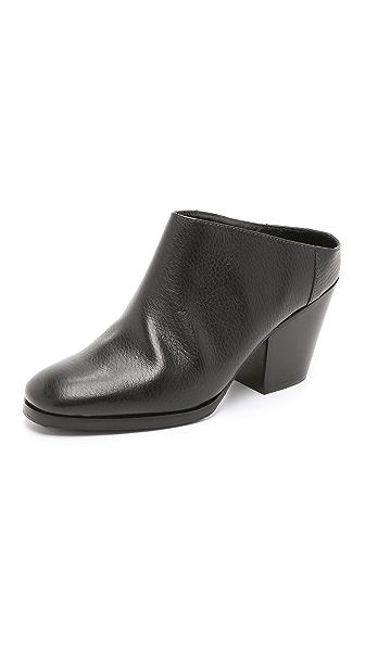 Rachel Comey Mars Mules - Black/Black