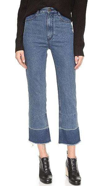 Rachel Comey Slim Legion Jeans In Indigo