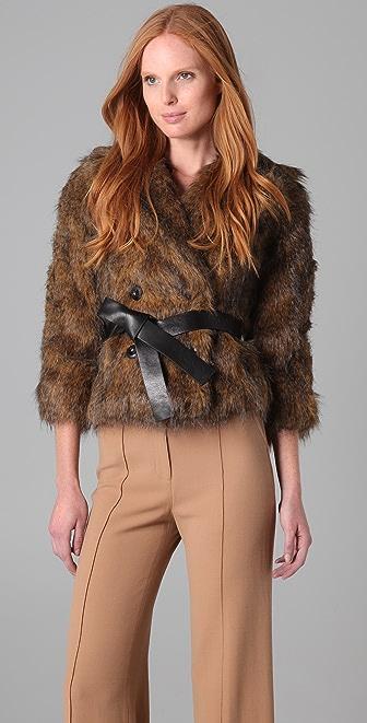 Rachel Zoe Penelope Fur Jacket