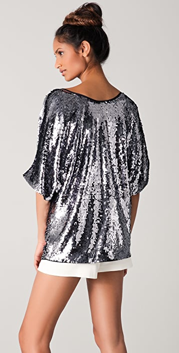 Rachel Zoe Minelli Sequined Top