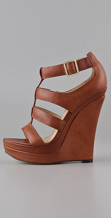 Rachel Zoe Kelsey Platform Wedge Sandals