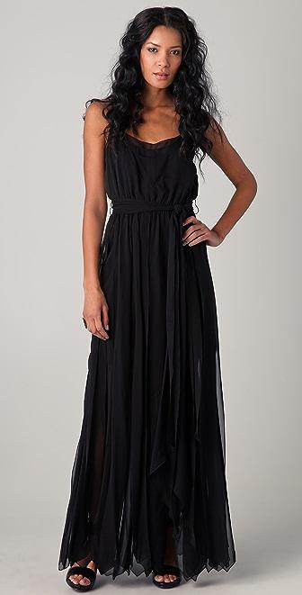 Rachel Zoe Ashley Layered Chiffon Gown