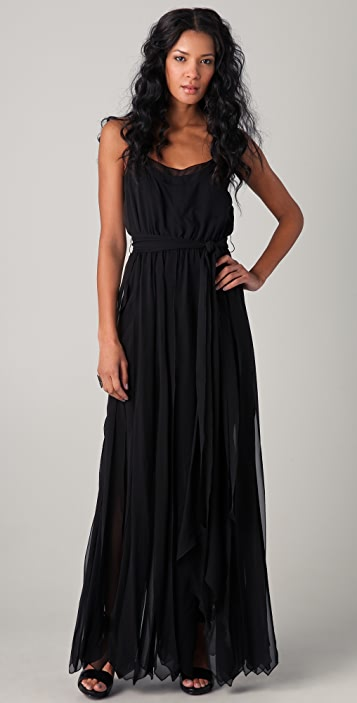 Rachel Zoe Ashley Layered Chiffon Gown