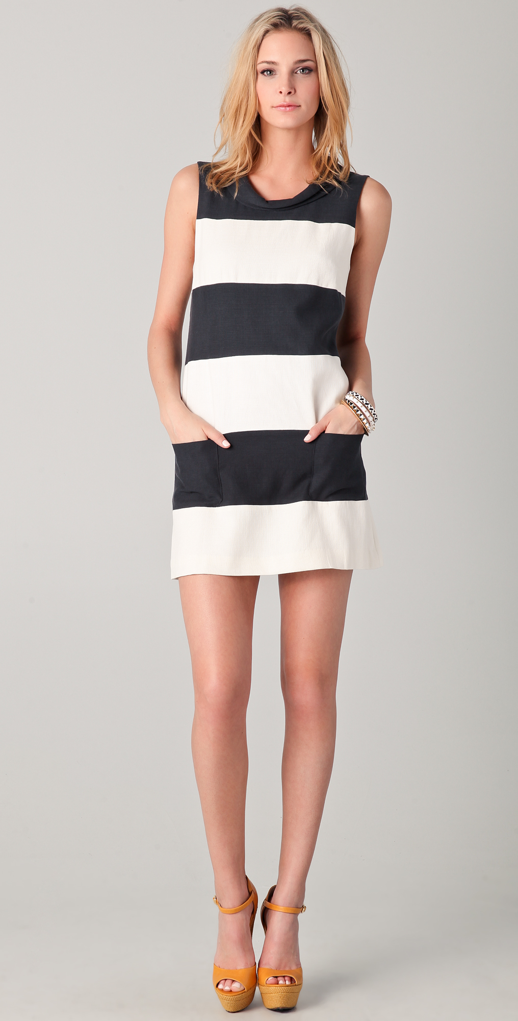 Rachel Zoe Madison Colorblock Shift Dress | SHOPBOP