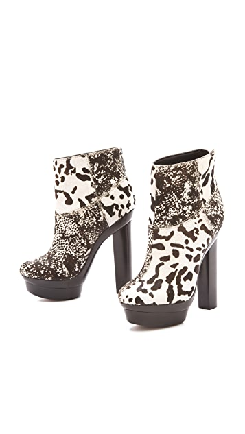 Rachel Zoe Pamela Haircalf Booties