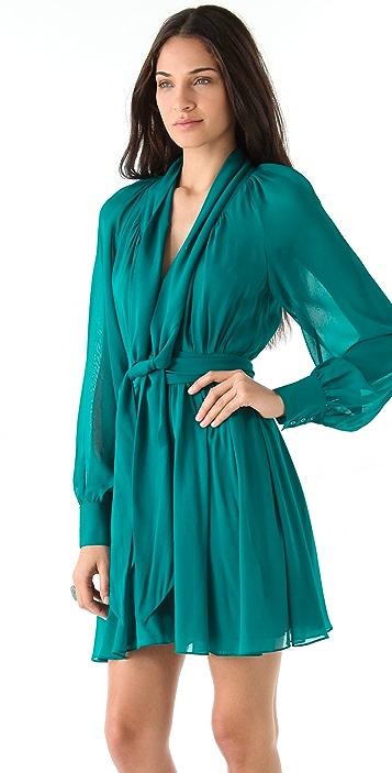 Rachel Zoe Arielle Bishop Sleeve Dress