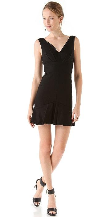 Rachel Zoe Bridget Pleated Sleeveless Dress