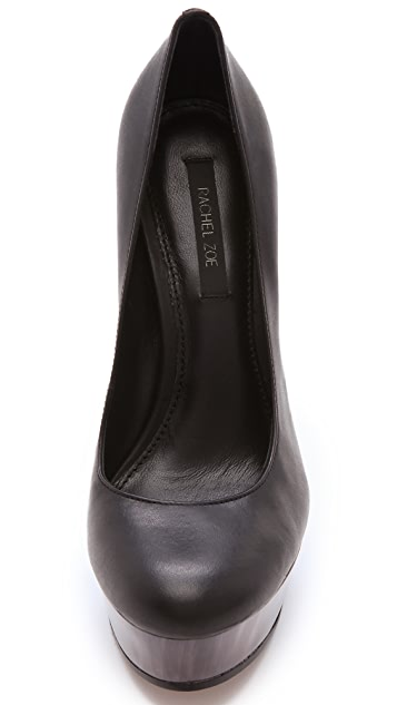 Rachel Zoe Leila Leather Pumps