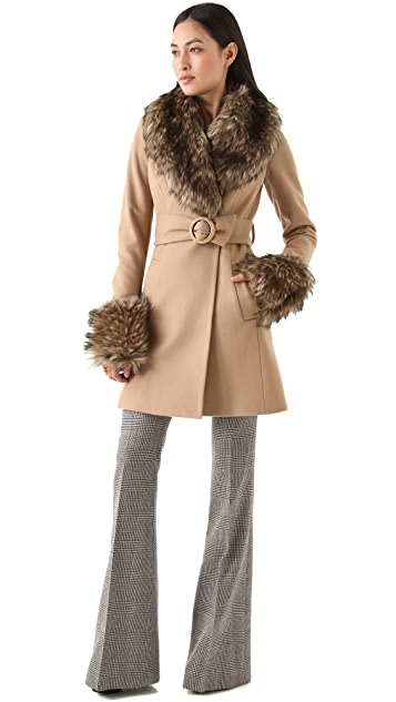 Rachel Zoe Trish Pea Coat