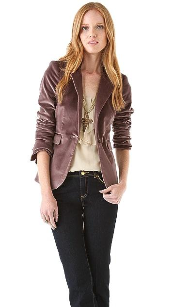 Rachel Zoe Hutton Velvet Tux Jacket