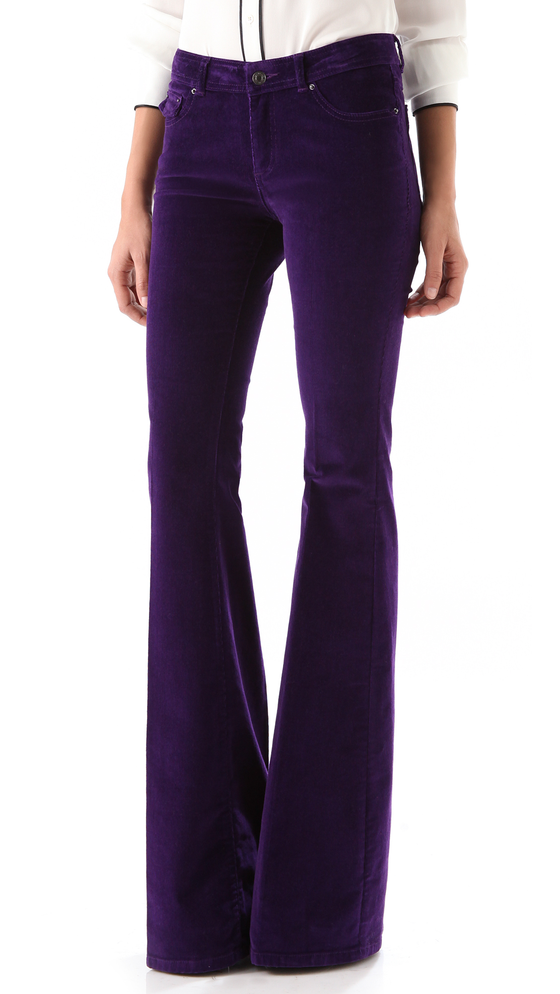 Rachel Zoe Rachel Corduroy Flare Pants | SHOPBOP