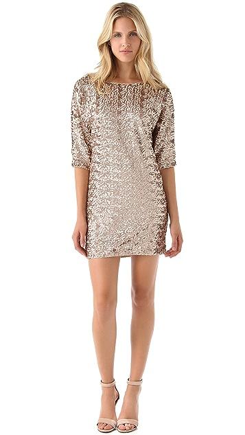 Rachel Zoe Tinsley Sequin Dolman Dress