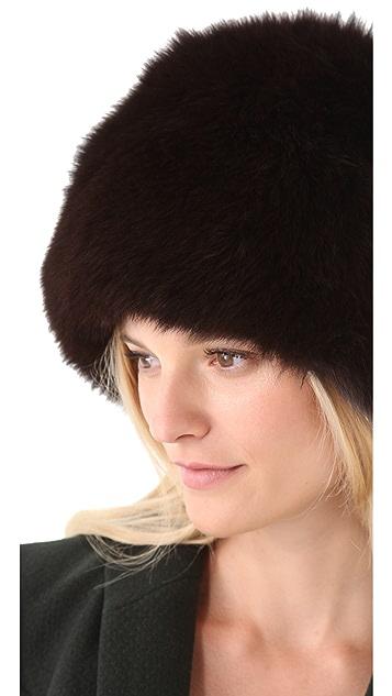 Rachel Zoe Fox Fur Hat
