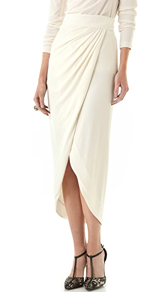 Rachel Zoe Abbey Wrap Maxi Skirt