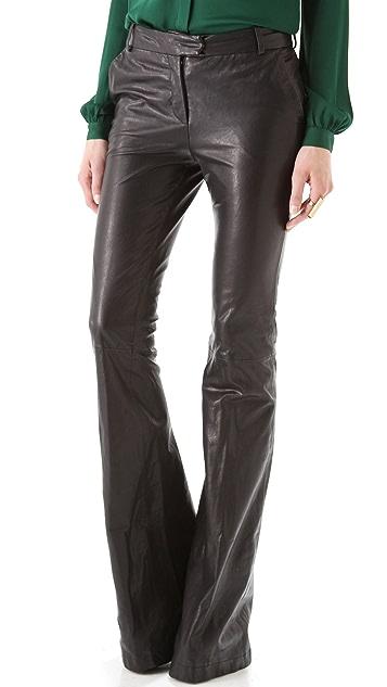 Rachel Zoe Hutton Leather Pants
