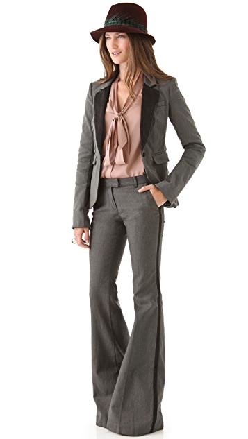 Rachel Zoe Hutton Tailored Denim Jacket