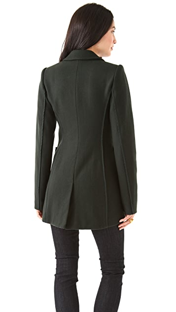 Rachel Zoe Kenny Tail Suit Jacket