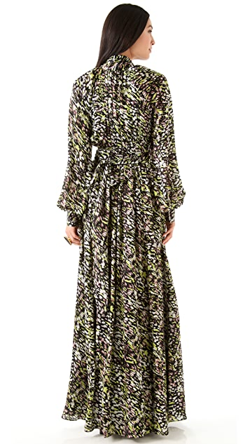 Rachel Zoe Astrid Bishop Sleeve Gown