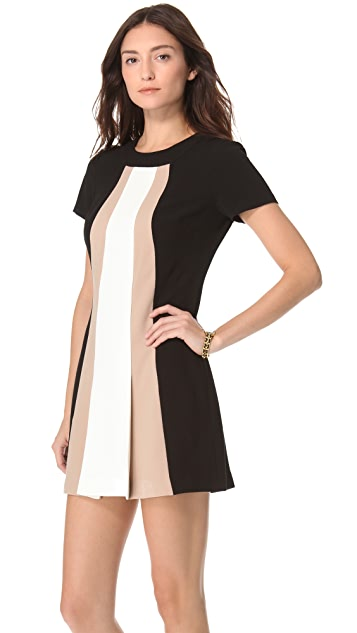 Rachel Zoe Andie Colorblock Shift Dress