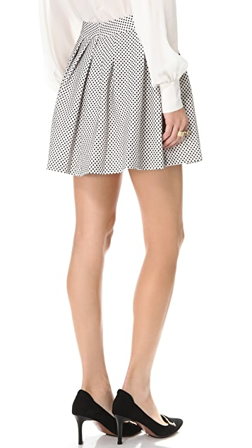 Rachel Zoe Jacquelyn Pleated Skirt