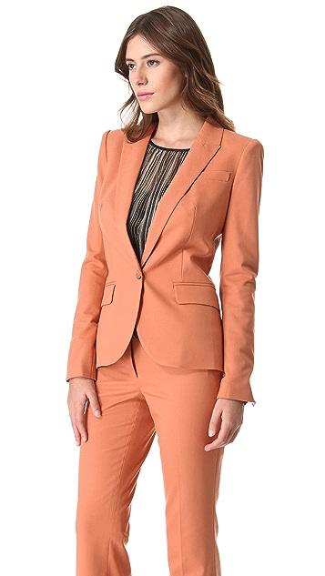 Rachel Zoe Hanne V Neck Jacket