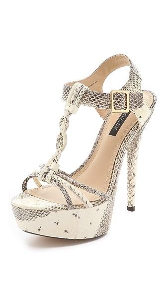 Rachel Zoe Valerie Snake Platform Sandals