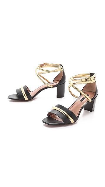 Rachel Zoe Montana Low Heel Sandals