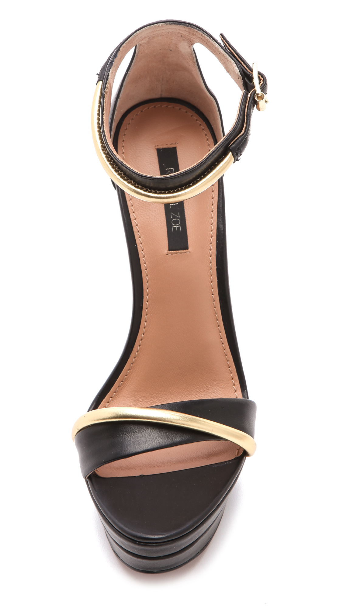 cd1d2f7d3cbb Rachel Zoe Katlyn Wedge Sandals