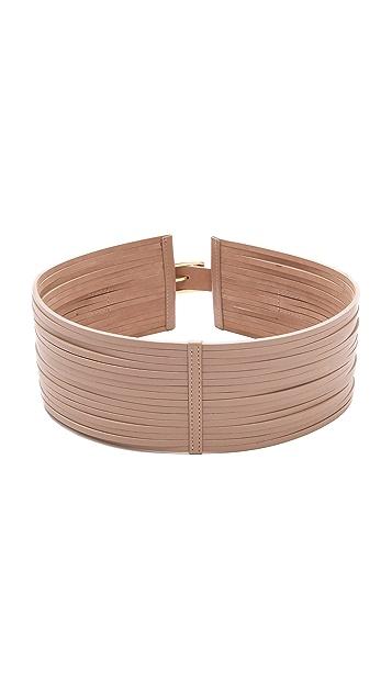 Rachel Zoe Cord Leather Belt