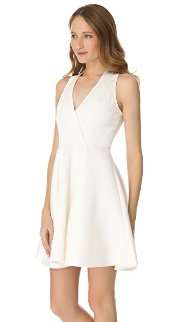 Rachel Zoe Caroline Faux Wrap Dress