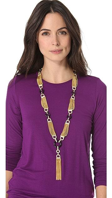 Rachel Zoe Tassel Necklace