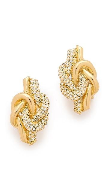 Rachel Zoe Knot Earrings