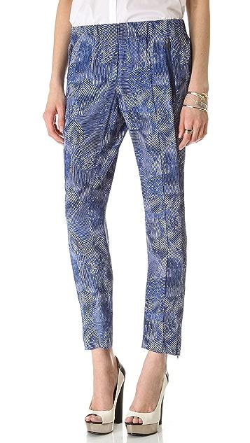 Rachel Zoe Mona Pintucked Pants