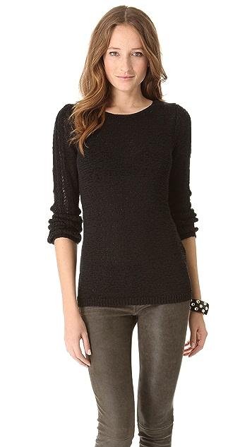 Rachel Zoe Karla Openwork Sweater
