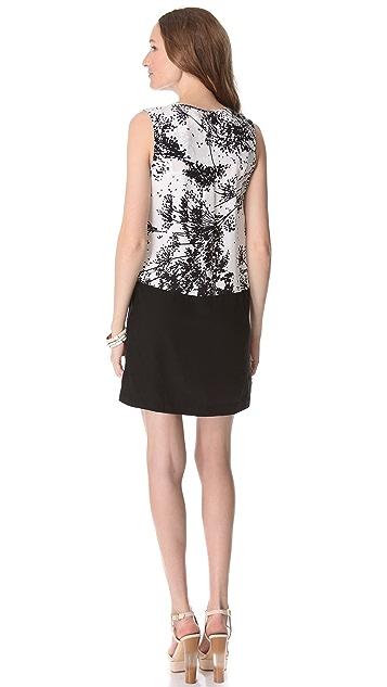 Rachel Zoe Jonah Color Block Mini Dress