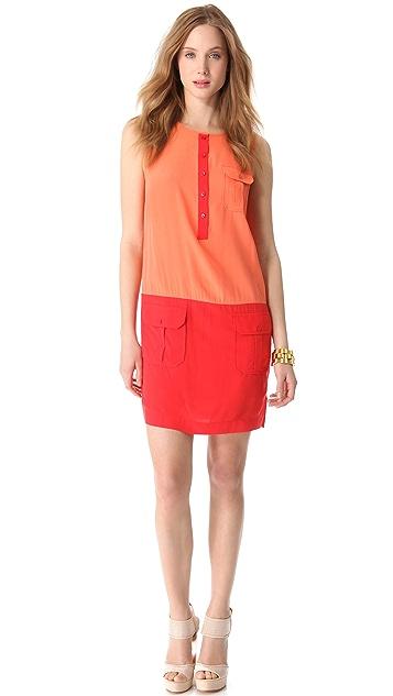 Rachel Zoe Jonah Colorblock Mini Dress