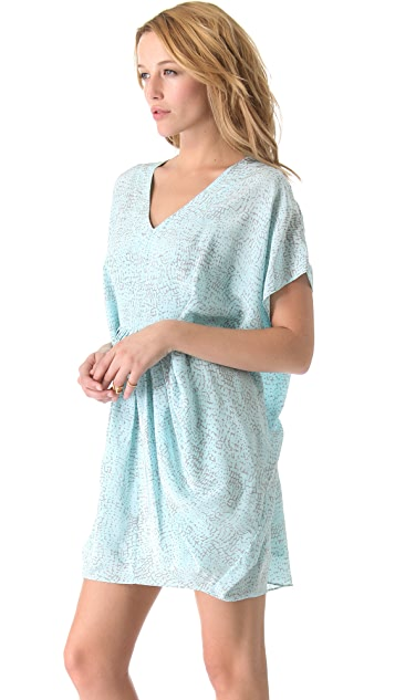 Rachel Zoe Giles Pleated Caftan Dress