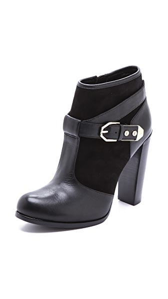Rachel Zoe Carolyn Buckle Booties