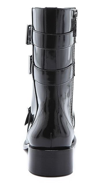 Rachel Zoe Joni 3 Buckle Boots