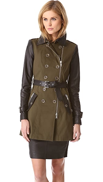 Rachel Zoe London Belted Trench Coat