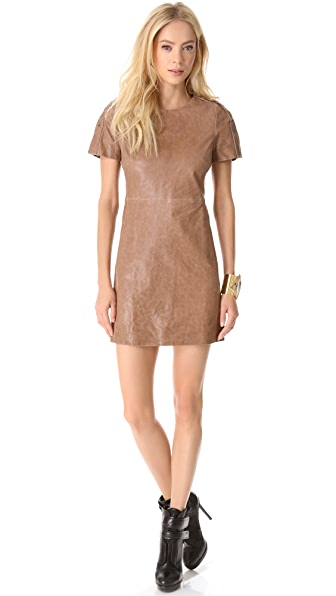 Rachel Zoe Luelle Leather Dress