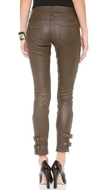Rachel Zoe Suzie Belted Leather Pants
