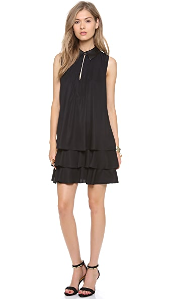 Rachel Zoe Waverly Tiered Trapeze Dress