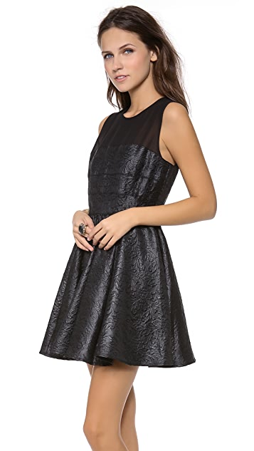 Rachel Zoe Mara Banded Sleeveless Dress