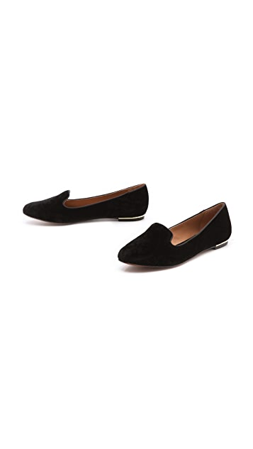 Rachel Zoe Zahara Velvet Loafers