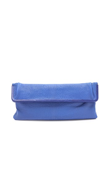Rachel Zoe Beatrice Fold Over Large Clutch